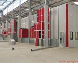 Bus Coach Truck Booths - Spray Booths Suppliers South Africa 021 556 2413 Cape Town and Johannesberg