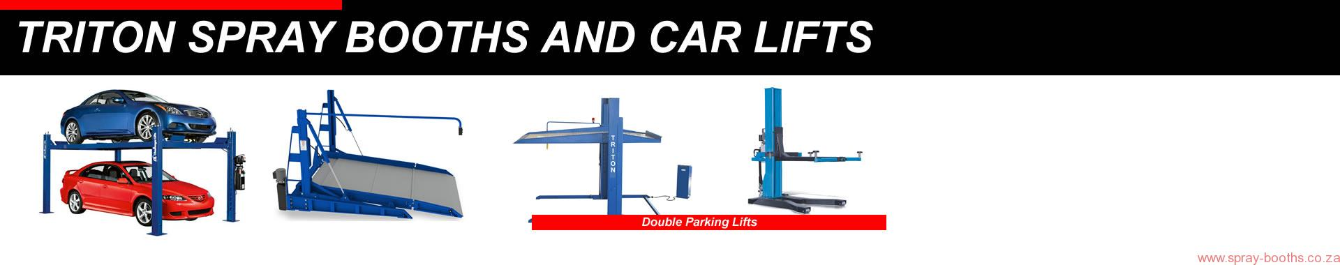 Double Parking Lifts Suppliers Triton car lifts 2 post hoist 021 5562413