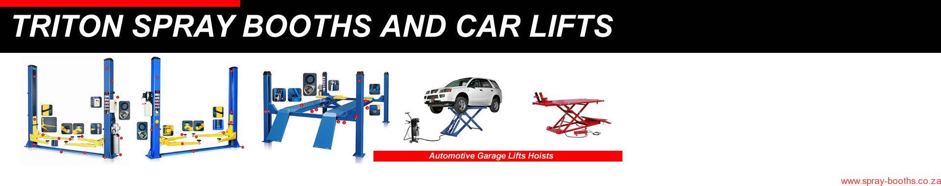 2 Post Car Lifts 4 Post Car Lifts Scissor Lifts Cape Town Johannesburg suppliers 021 5562413